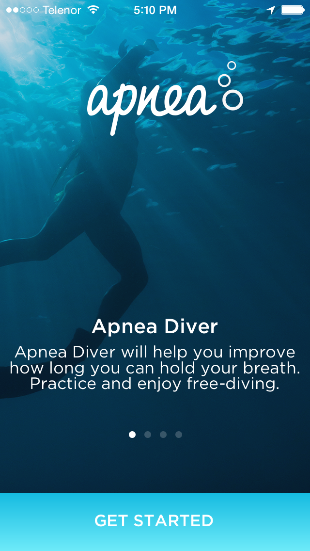 Apnea Diver | App for freediving and apnea swimmers