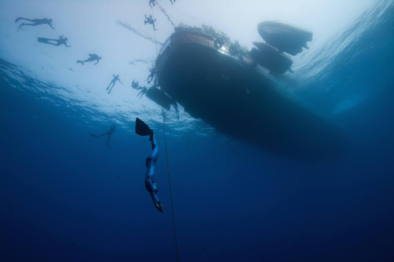 freediving platform